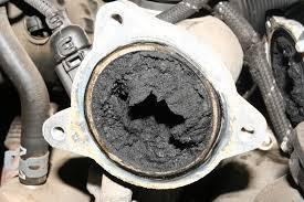 clogged egr valve diesel