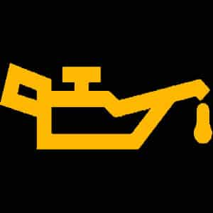 oil level warning light