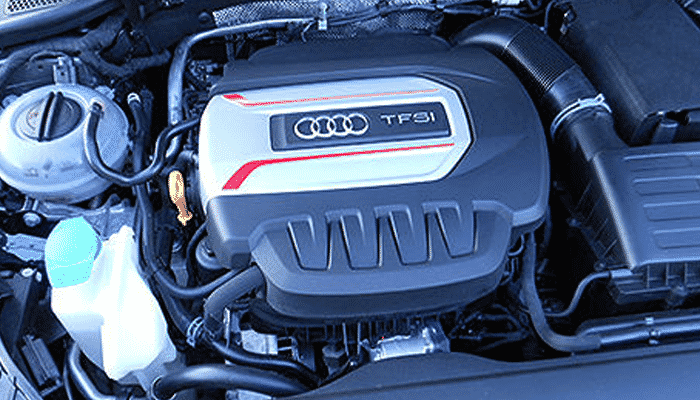 AUDI S3 2.0 litre 4 cylinder engines