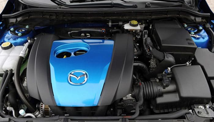 MAZDA 3 SkyActiv engines