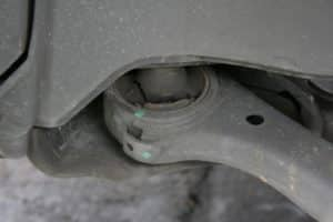 bad control arm bushing