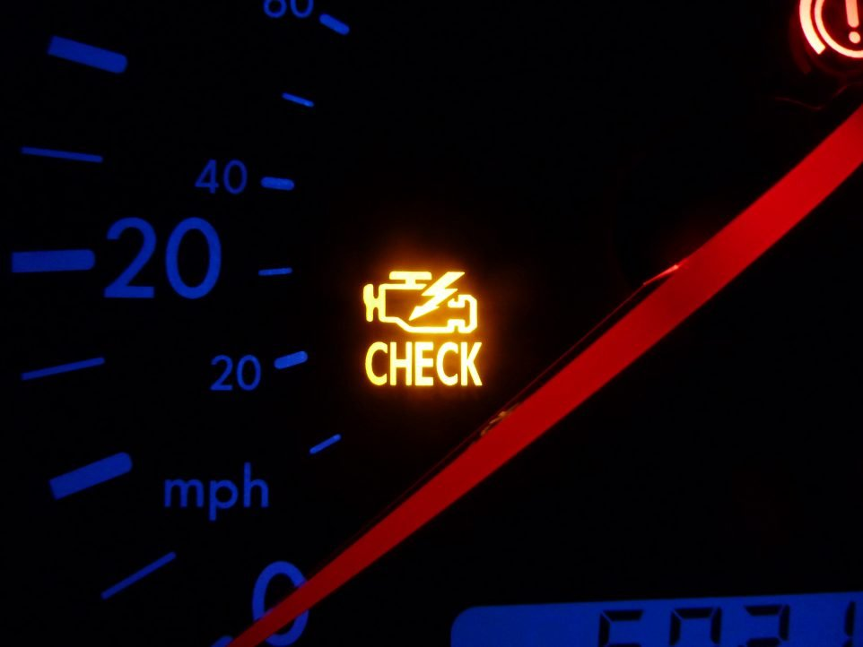 reset check engine light