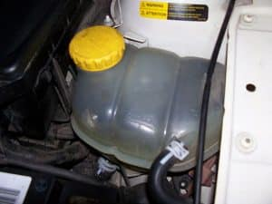 coolant reservoir