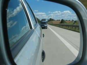 side view mirror glue