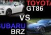Toyota 86 VS Subaru BRZ - Differences & Information