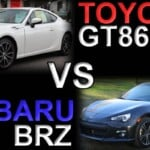 Toyota GT86 VS Subaru BRZ - Differences & Information