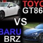 Toyota GT86 VS Subaru BRZ - Differences & Information