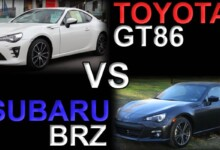 Toyota 86 vs. Subaru BRZ - Differences (& Which is Better?)