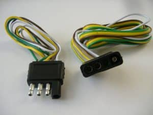 four pin trailer connector