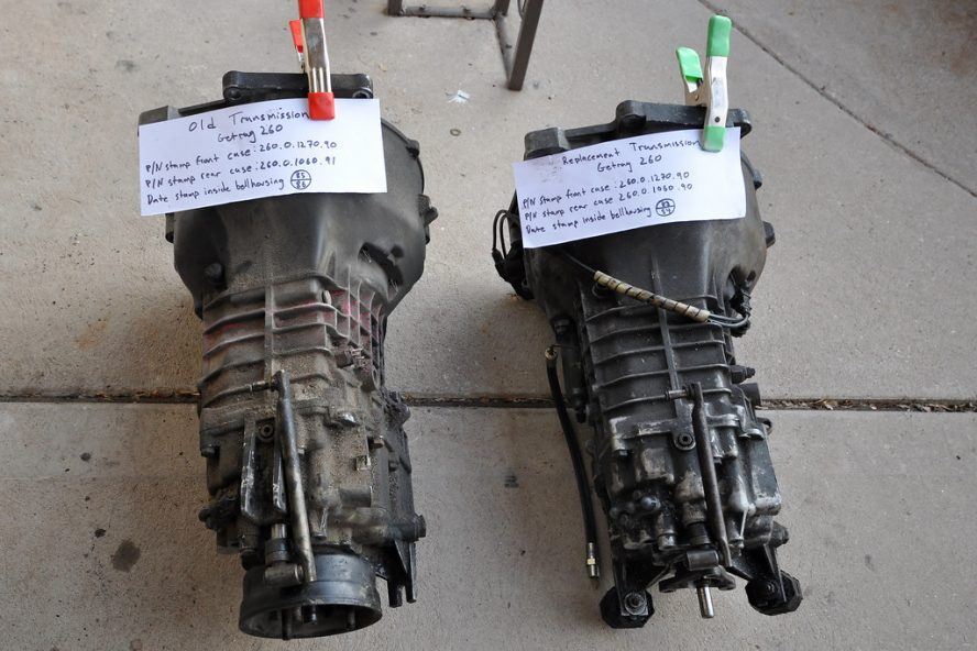replace transmission