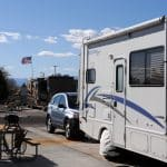 What cars can be flat towed behind an RV?