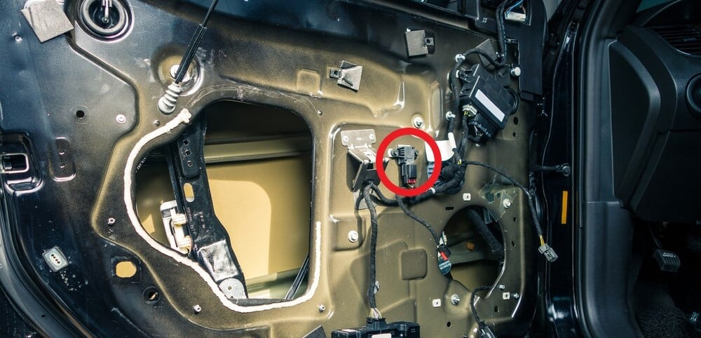 Side Airbag Impact Sensor Location