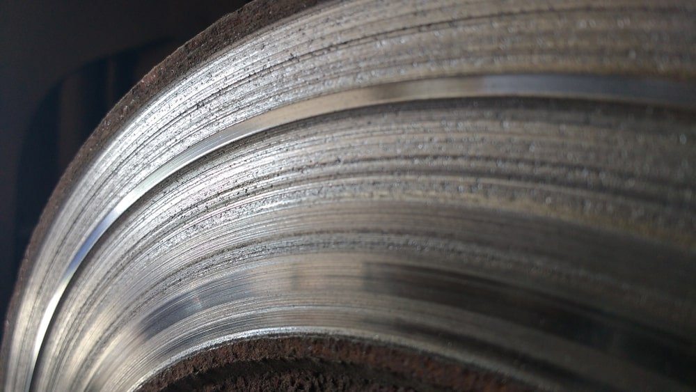Brake Rotor Scratch Marks