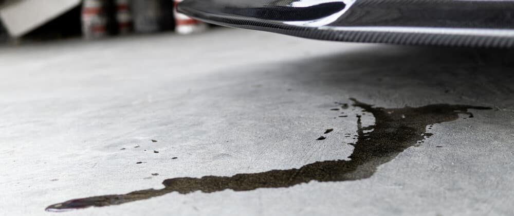 Car Oil Leak