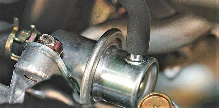Fuel Pressure Regulator Location