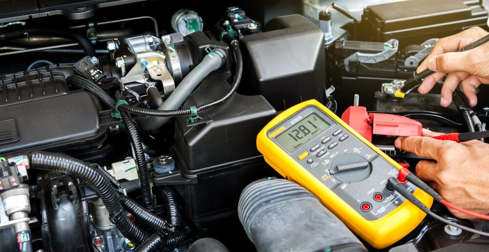 Measure Car Battery Voltage
