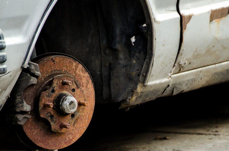 rusty brake rotors