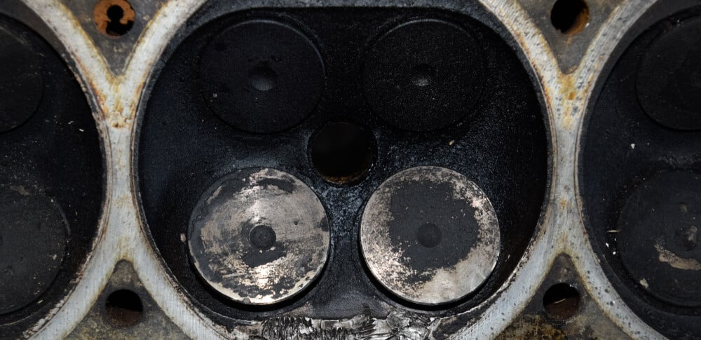 Sooty Combustion Chamber