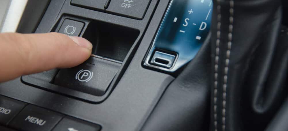 Test Parking Brake Button