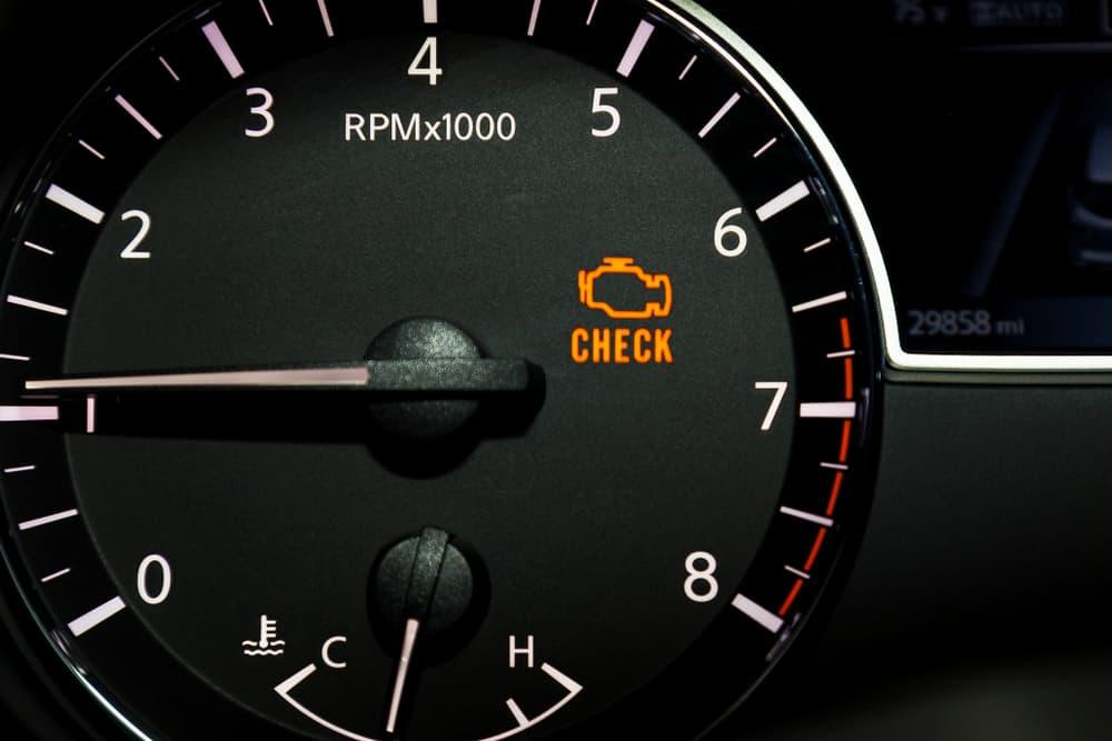 Check Engine Light Reset Itself