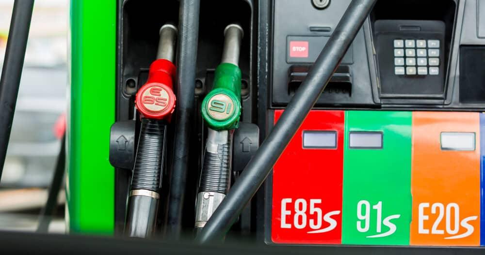 e85 vs gasoline
