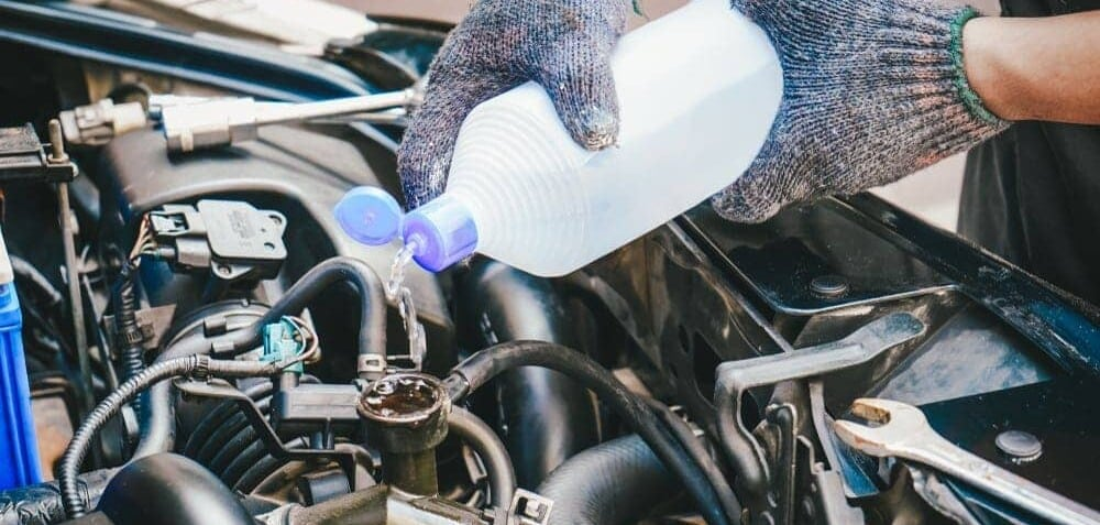 Fill Water In Radiator Coolant