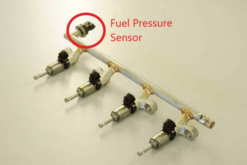 Fuel Pressure Sensor Location