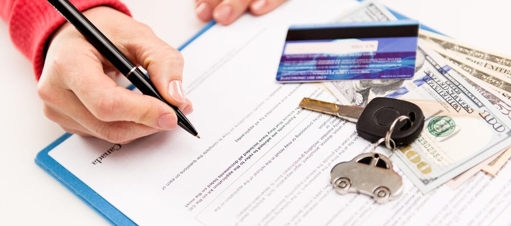 Lease Car Papers