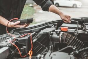mechanic check engine