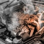 White smoke coming from the engine – Causes & fixes