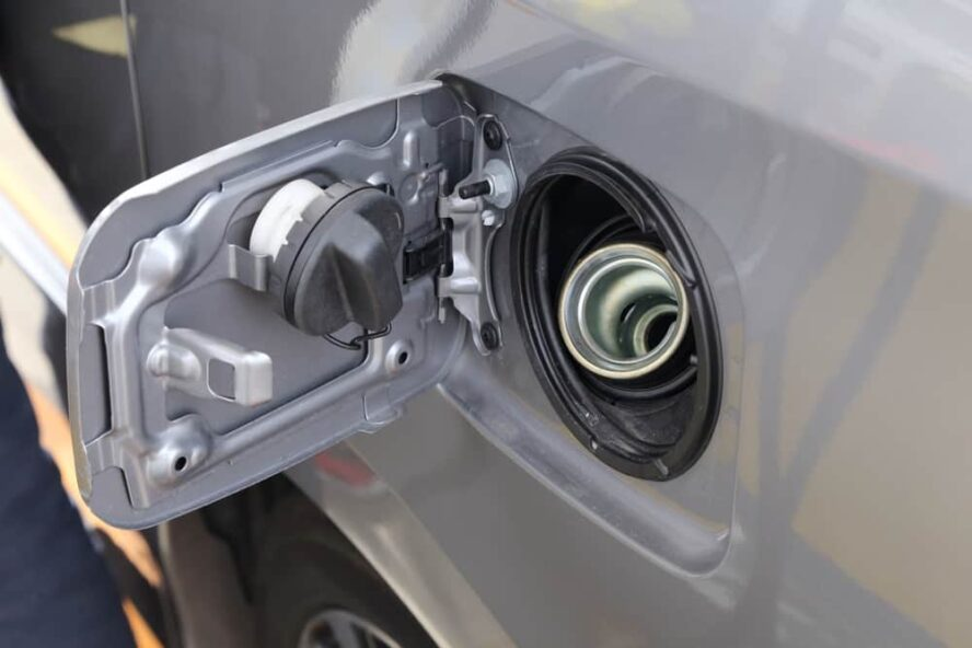 car fuel filling tank