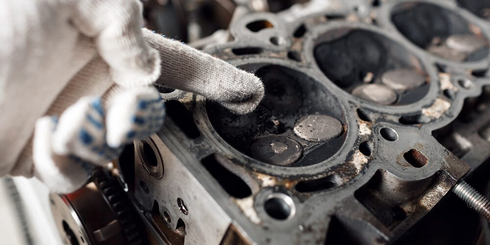Engine Head Sludge