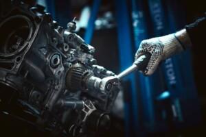 Mechanic Turning Engine