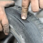How Dangerous is it to Drive Around with Old Tires?