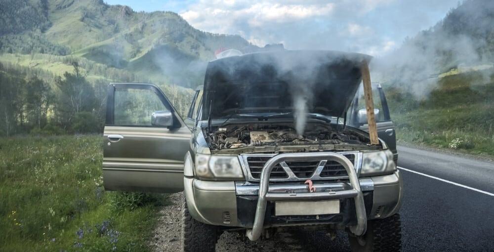 Overheating Engine On Road