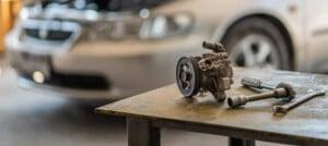 Power Steering Pump On Table