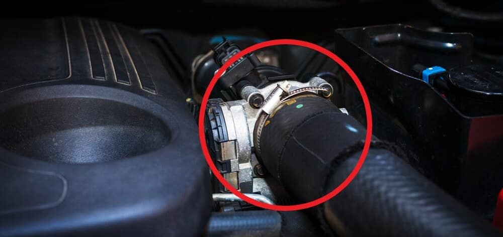 Throttle Body Locate