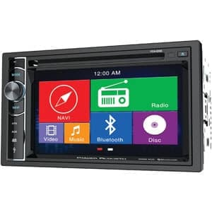 Power Acoustik PDN 626B Double Din Unit