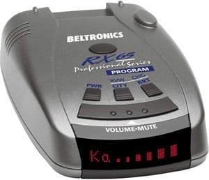 beltronics radar detector 1