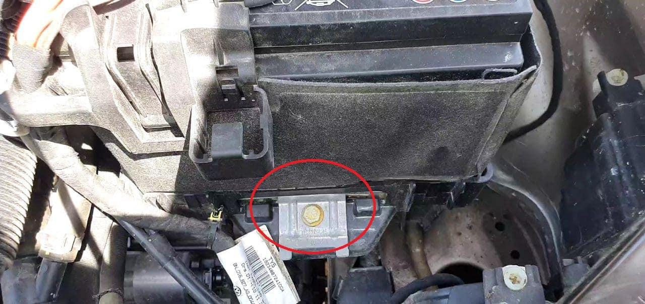 Car Battery Bracket