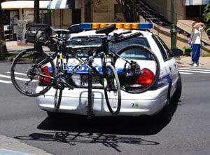 car bike rack with bikes