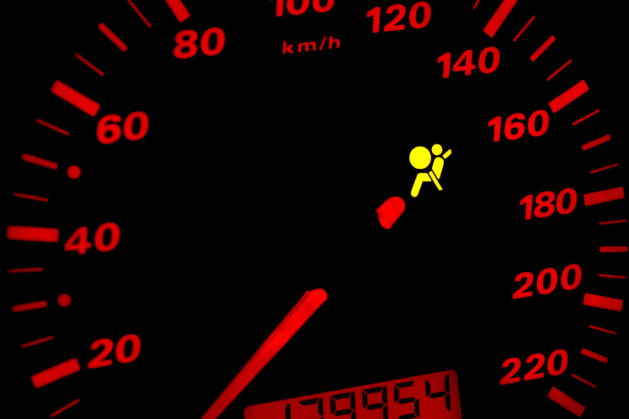 drive with airbag light