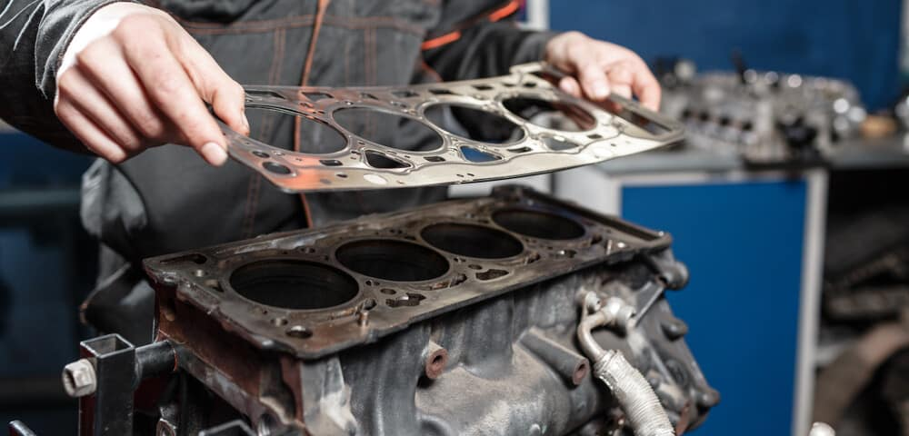 Head Gasket On Engine