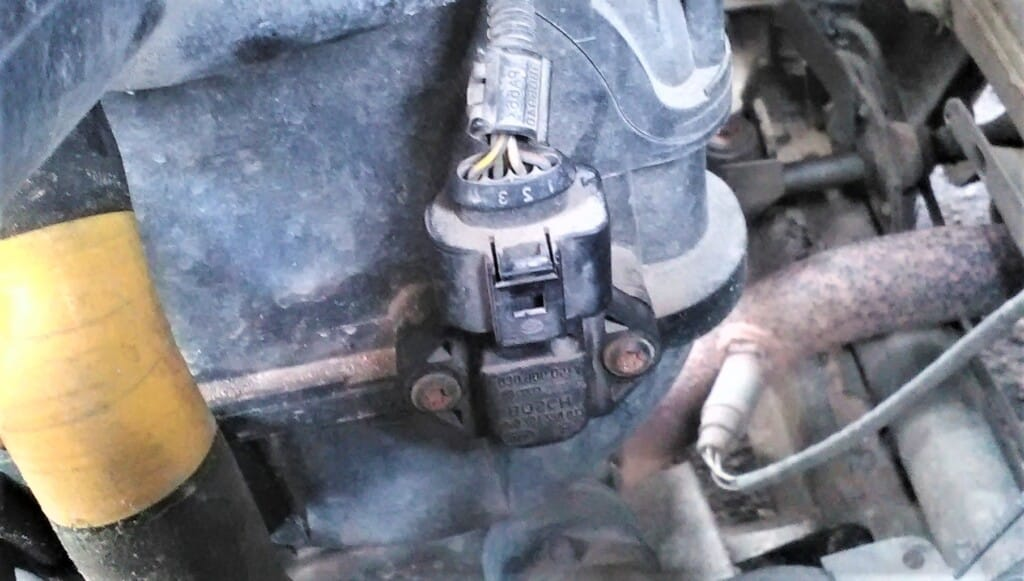 Map Sensor Location