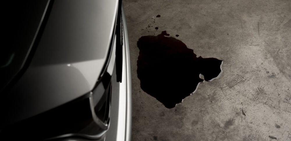 Oil Leak On Floor