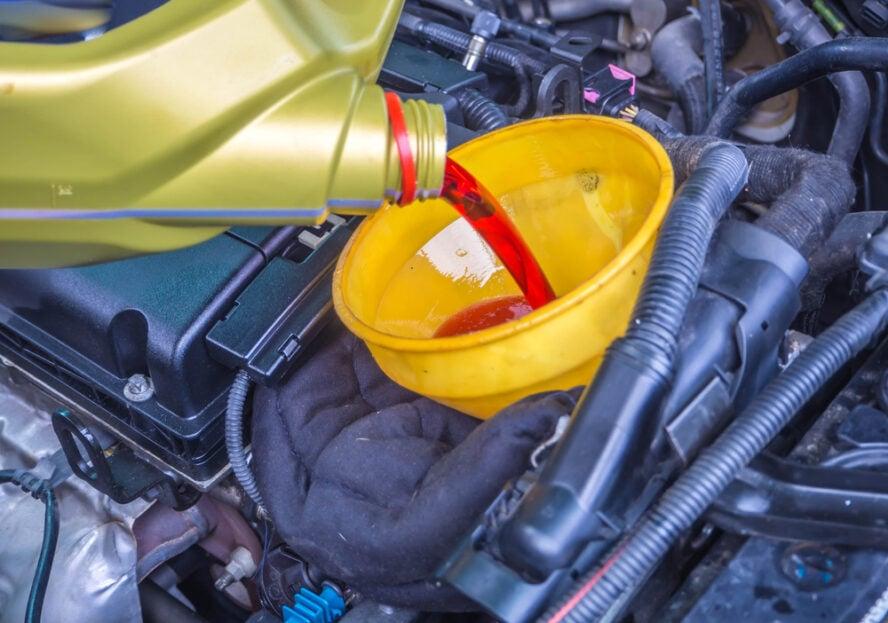 transmission fluid refill