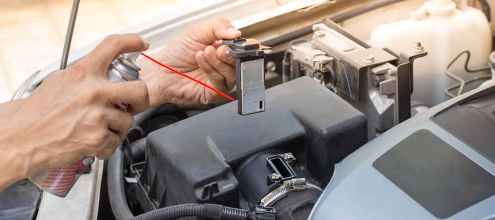 Cleaning Maf Sensor