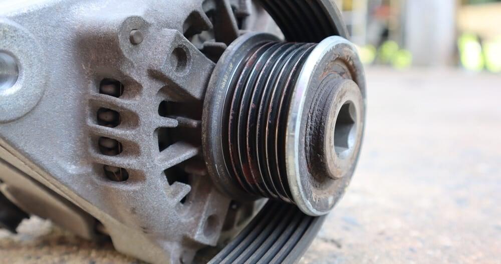 Alternator Pulley Clutch