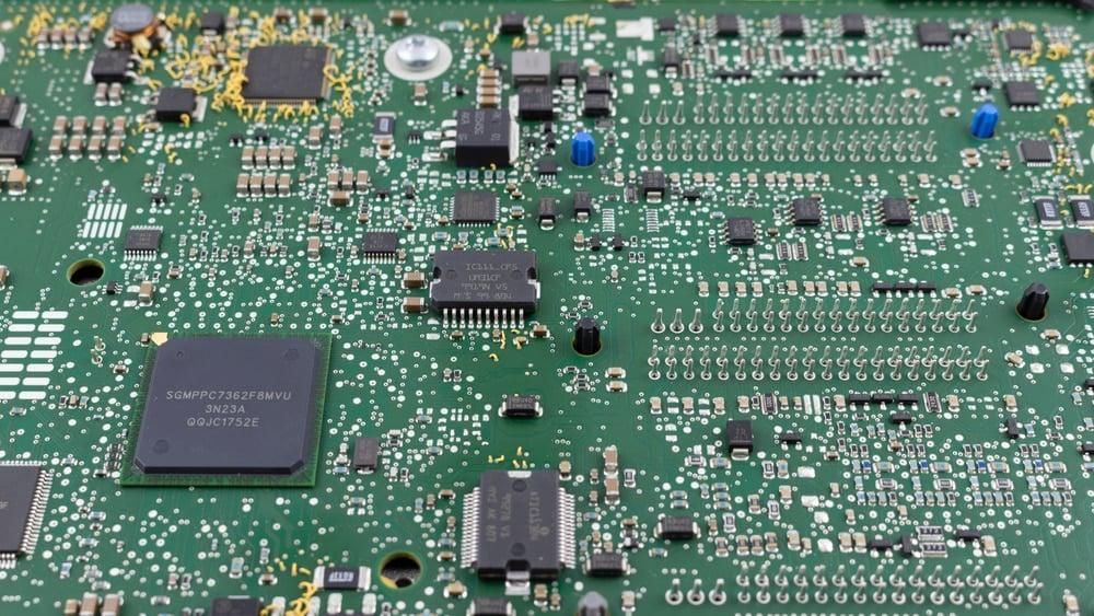 Car Control Board Circuit