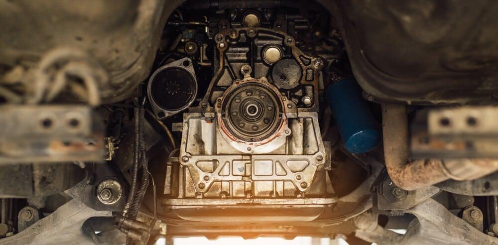 Car Transmission Underneath